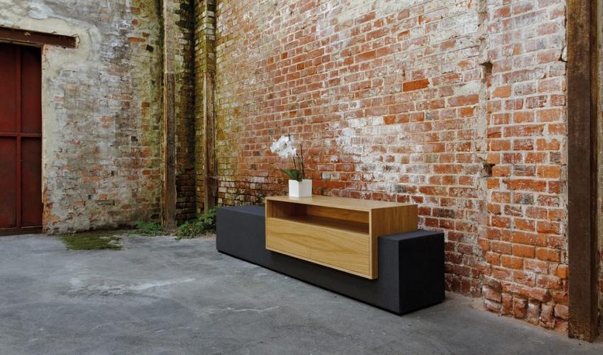 Moderne Mobel Aus Beton Heisse Ofen Vom Team Kamin Kachelofen