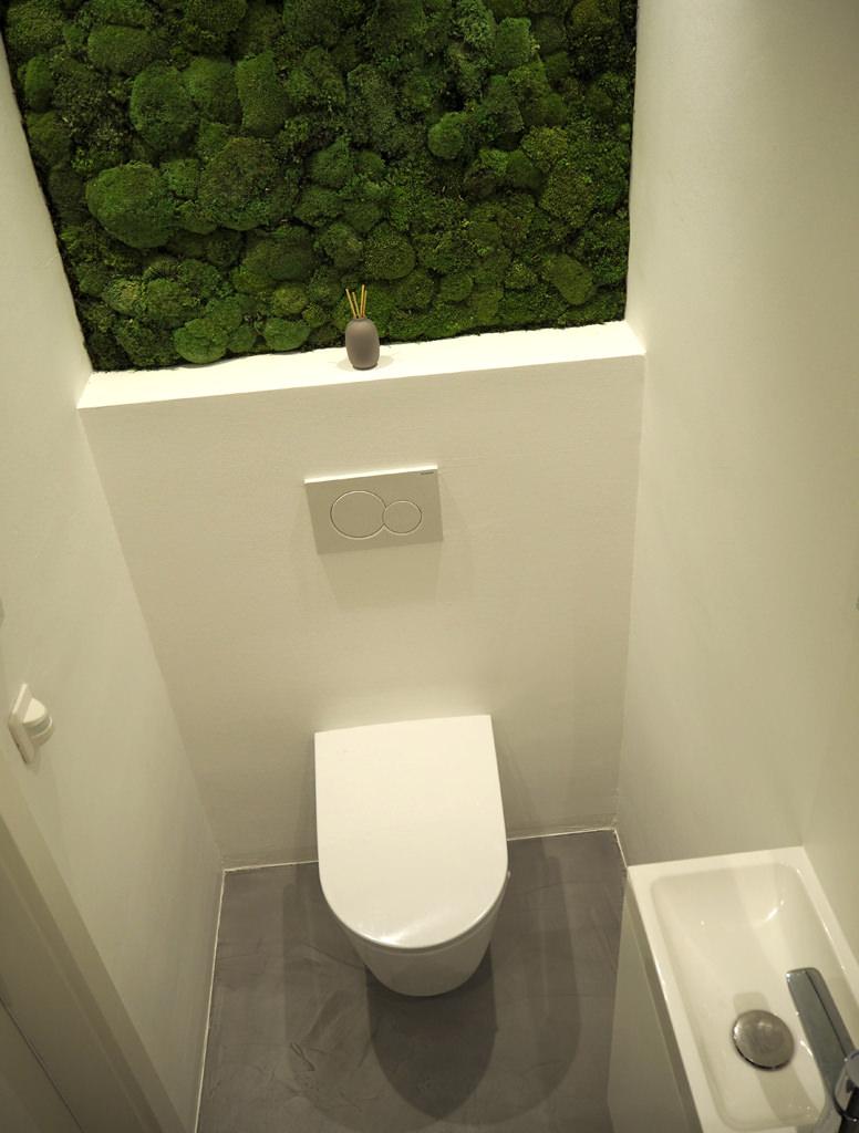 modernes wc fugenlos